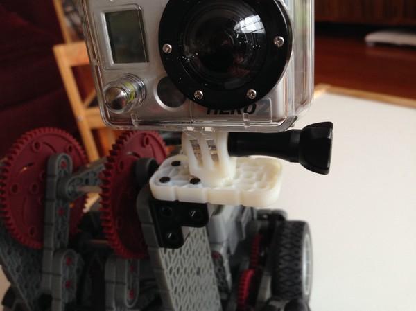 Vex IQ GoPro Adapter