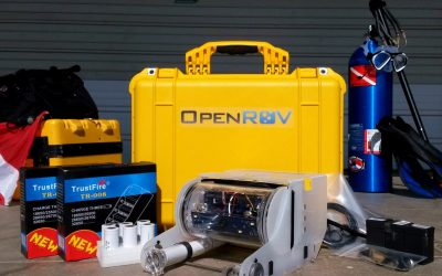 robotic submarine OpenROV
